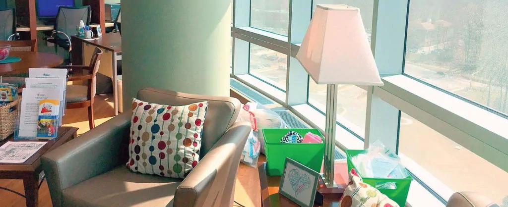 Ronald McDonald Family Room at Inova Children's Hospital